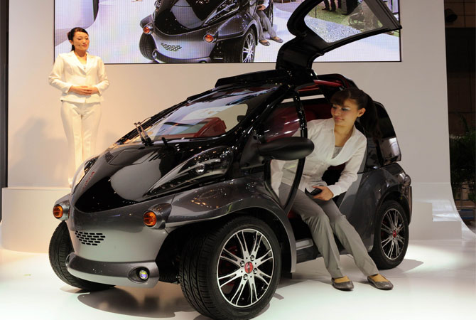 2013 Modern Cars: Toyota's Smart Insect Specs