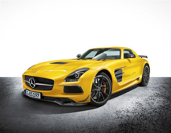 2013 Mercedes-Benz SLS AMG Black Serie