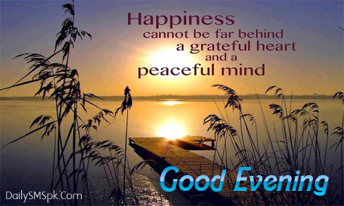 Good Evening Wallpaper Cards SMS, Quotes and Images | DailysmsPK.Net
