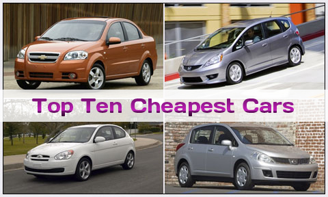 2013 Top 10 Cheapest & Family Cars in Pakistan