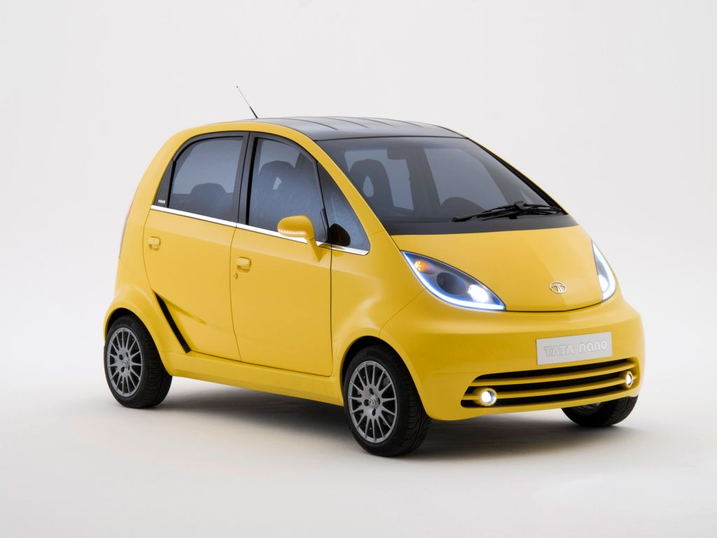 tata nano europa yellow image Tata Nano Car 2013 Price, Review & Features