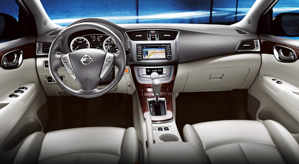 2013 nissan sentra interior 2013 Nissan Sentra Price & Features