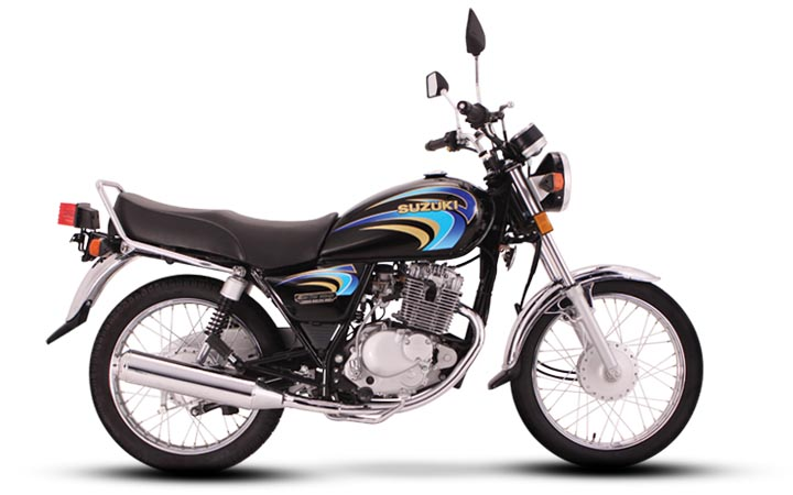 gs150 colorblack Suzuki GS150 2013 Price in Pakistan, Review & Features