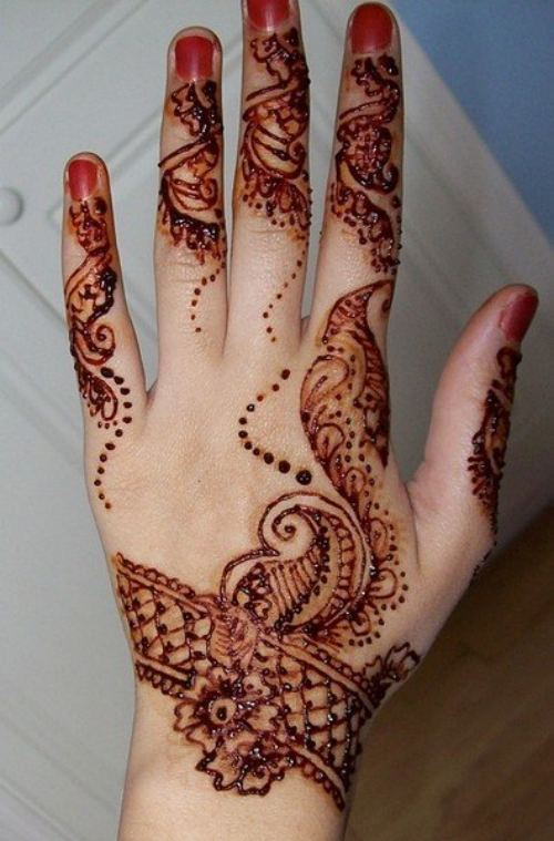 Latest Arabic- Hands mehndi-design-2012- 2013