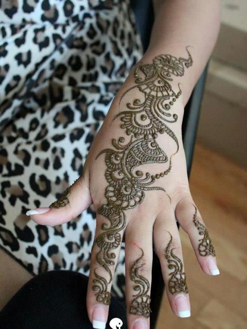 latest beautiful hand mehndi designs 2013 arabic Simple Arabic Mehndi ...