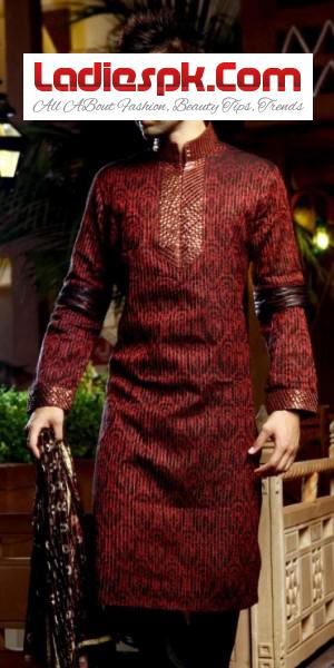 New Men Kurta Designs 2013 for Wedding & Mehndi