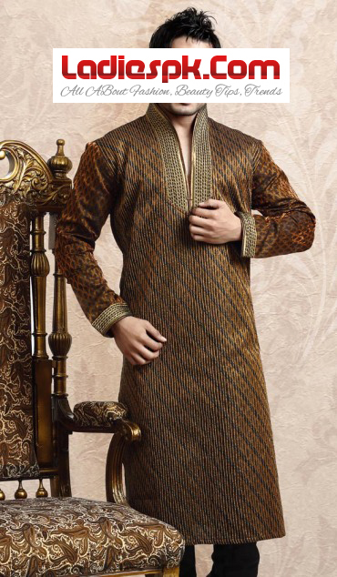Men-Kurta-Latest-Design-for-mehndi-wears 2013