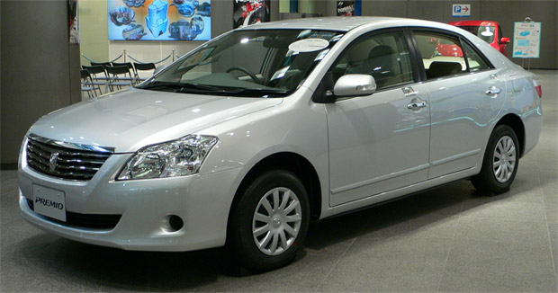 Toyota Premio is a compact sedan offered by Toyota . The Premio is the