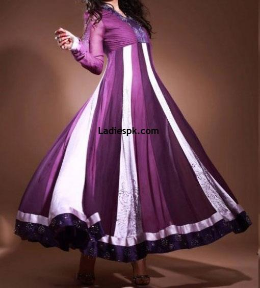 Beautiful-Frock-Umbrella-Pakistani-2013