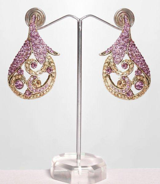beautiful wadding earrings jewellery 2013 indian pakistani Earrings Artificial Jewellery Designs For Women Girls