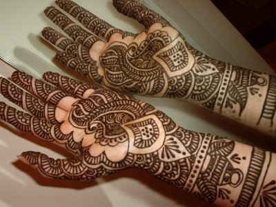 bridal mehndi designs for hands 2013 indian2 Indian Bridal Mehndi Designs 2013 for Full Hands