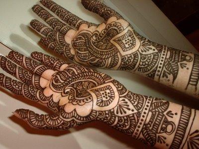 Eid Mehndi Designs for Hand