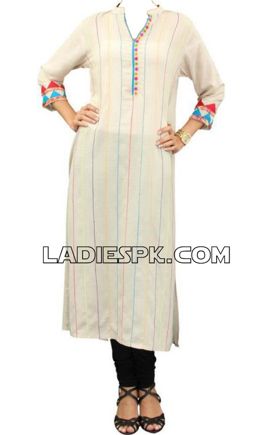 casual pakistani women kurtas Spring Casual Pakistani Kurta with Churidar Pajama Pyjama