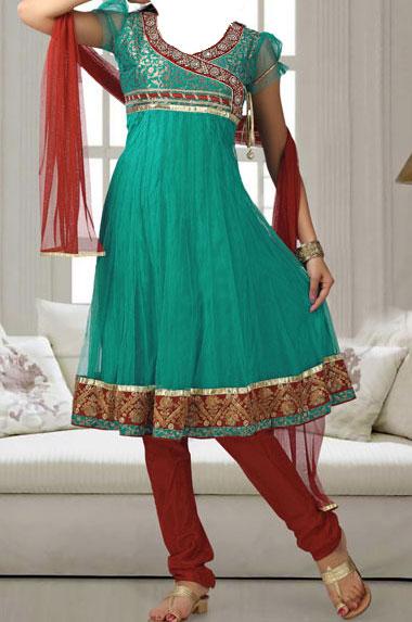 Designer-Fancy-Anarkali-Frock-Churidar