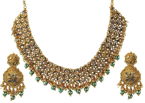 Gold-Jewellery Sets-Designs-2013-for-Bridal-India