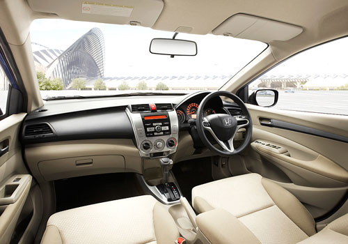 Honda City Aspire Interior