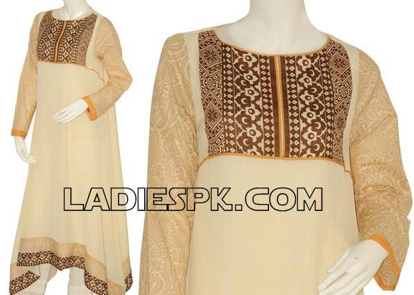 Long-Frock-Style-For-Girls-2013-Junaid-Jamshed