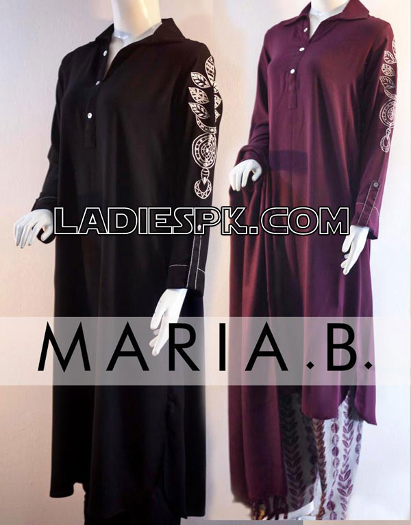 Maria B Kurta Summer Cotton Dresses Collection 2013 for Girls