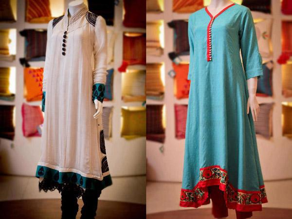 Naj-frock-design-2013-Collection-Dresses-For-Women