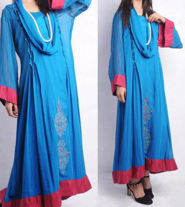 New Frock Designs in Pakistan http://ladiespk.com/new-lon-frock-style-in-india-pakistan/