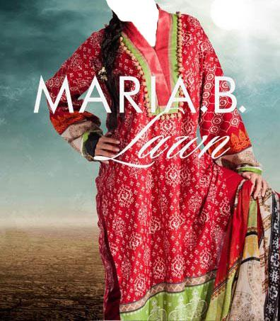 new maria b designs lawn collection 2013 Latest Maria B Summer Lawn Collection 2013