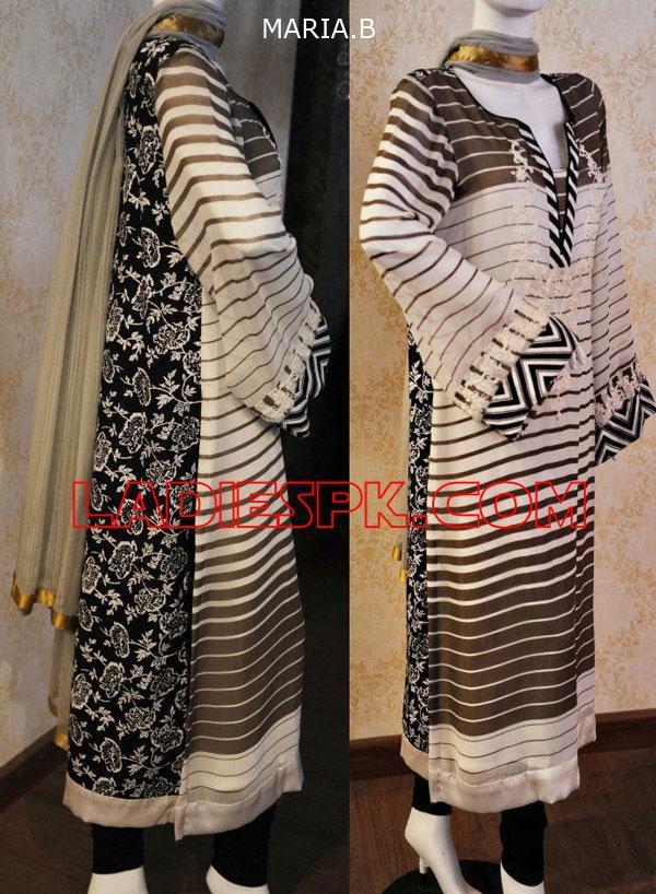 New MARIA.B-Shalwar-Kameez-2013 Designs