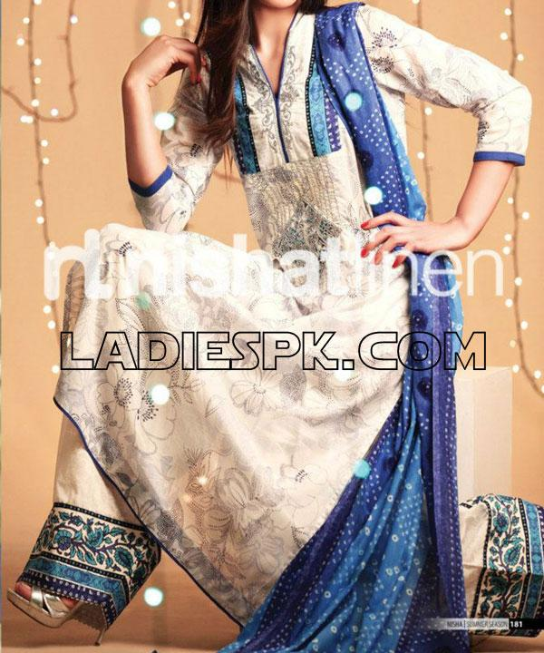 nishat lawn summer collection 2013 Designer Summer Lawn Collection 2013