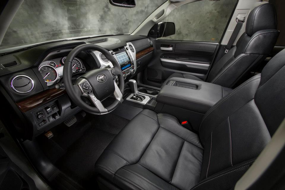 Tundra 2014 interior images