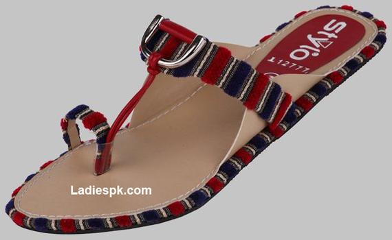 flats stylo shoes summer slippers 2013 Stylo Shoes Flats Slippers 2013 for Girls and Women