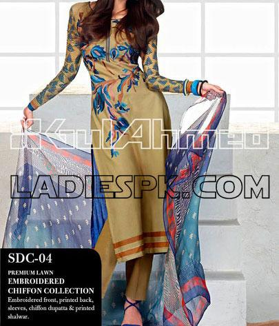 gul ahmed lawn dresses summer collection 2013 New Gul Ahmed Lawn Prints 2013 Spring Summer Collection