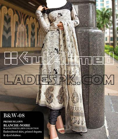 gul ahmed lawn kameez choori pajama 2013 girls New Gul Ahmed Lawn Kameez Pajama Designs for Girls 2013