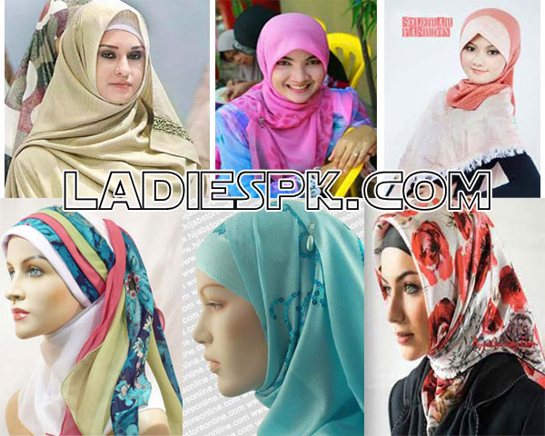 hijab fashion style in pakistan 2013 designs pictures Latest Hijab Style in Pakistan 2013 for Girls