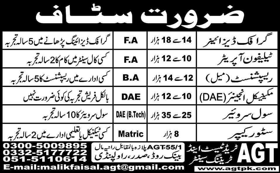 Jobs in Rawalpindi