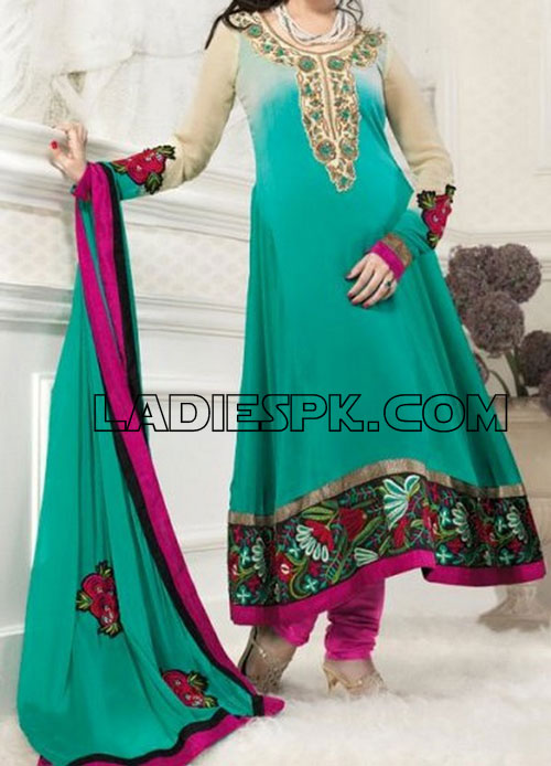 Line Dresses Frock Fashion Style in Pakistan India