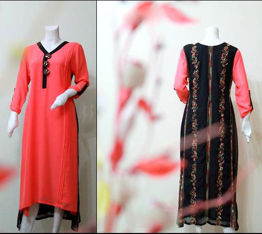 long girls kurti spring dresses 2013 Long Kurta Style for Girls 2013