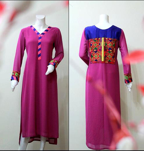 long kurta spring dresses 2013 zayn rashid Long Women Kurta Design