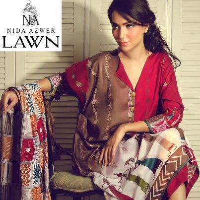 Nida Azwer Limited Edition Lawn 2013