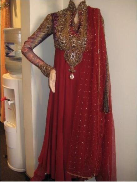 Red formal boutique dresses for Girls Women 2013 Frock