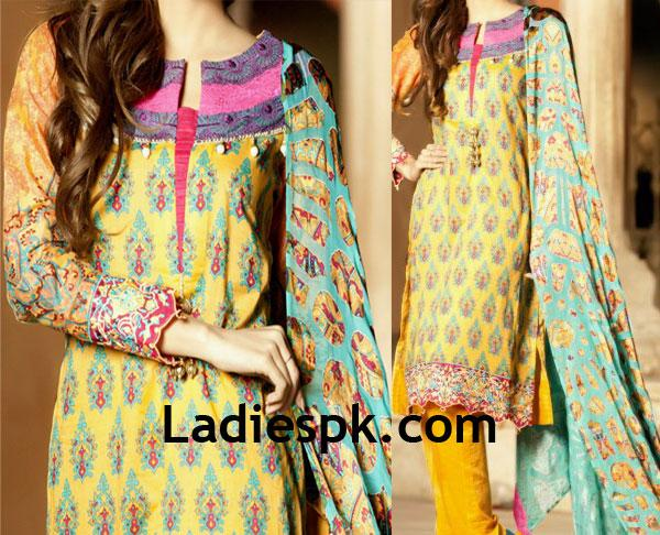 summer firdous lawn fashion cloth mills 2013 Firdous Lawn Collection 2013 Firdous Fashion Cloth Mills