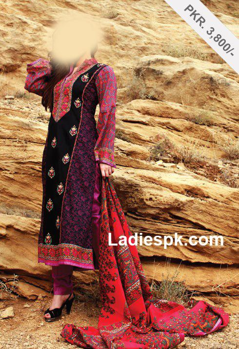 al karam lawn kashmiri kameez 2013 Al Karam Summer Lawn Prints Collection 2013 with Prices