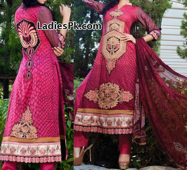 Al-Zohaib-Textile-lawn-2013-long-Kameez-Shalwar Price Rs. 4,790 Mahiymaan