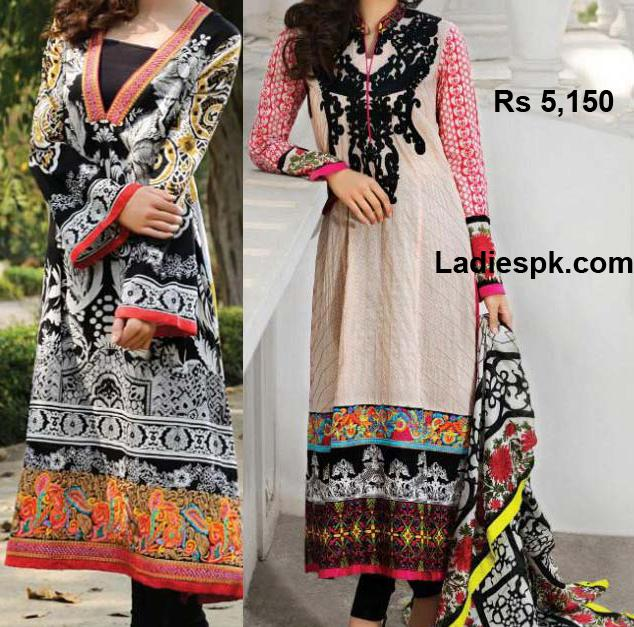 Bonanza-Lawn 2013 Designs Long Shirts Choori Pajama Summer