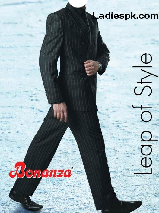 bonanza three piece suit Black pant coat