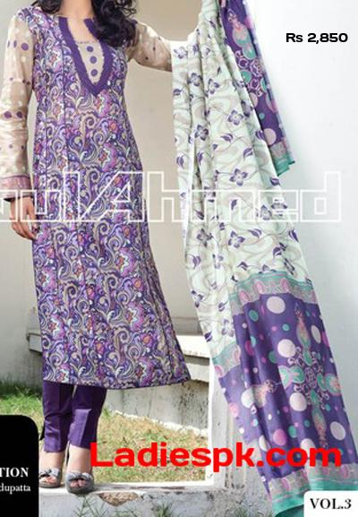 Gul-Ahmed-lawn-2013-Volume 3-magazine-lawn-Shirts-Summer
