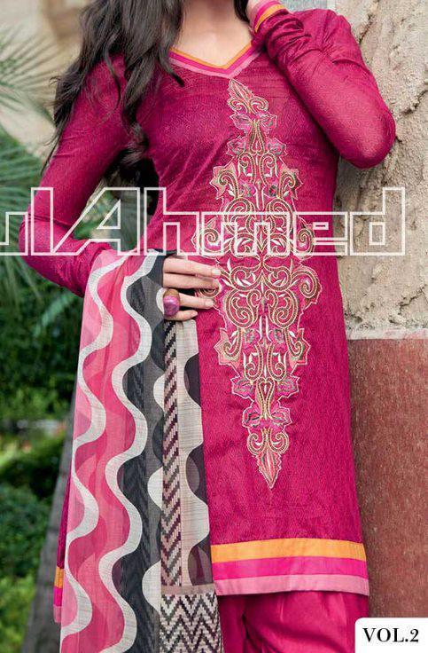 GulAhmed-ES15--Rs.6000-Silk 2013