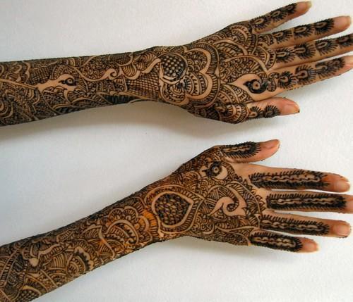 Henna Mehndi Full hand design 2013
