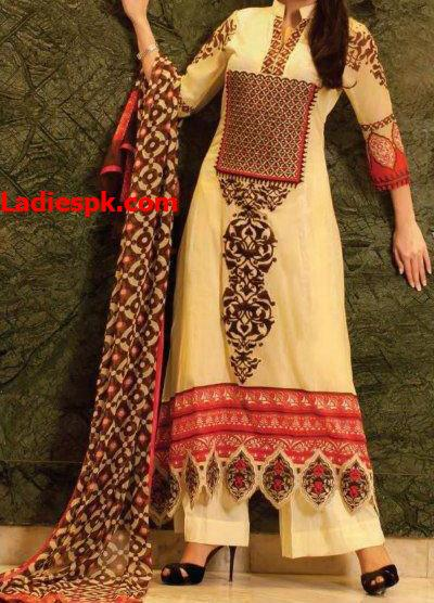 Zebaish-Lawn-by-Zohaib 2013 Long Kameez women