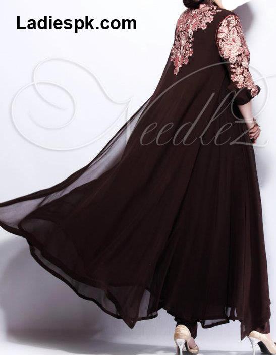 Fancy Needlez-Summer Party Wear Frock for Girls 2013