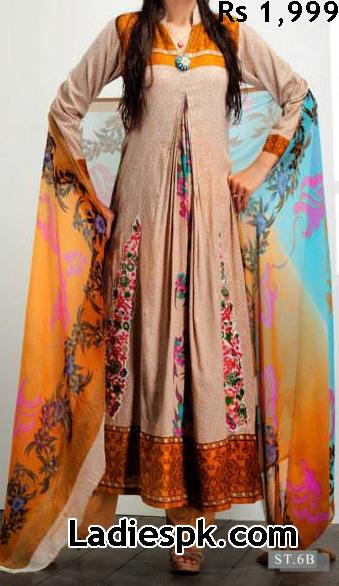 feminine limited summer lawn edition latest collection 2013 by shariq textiles 07 Latest Fashion in Pakistan 2013 Dresses Design for Girls Women