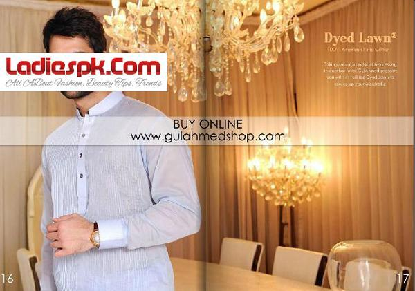 Gul-Ahmed-Lawn Men-Vol-3-Shalwar-Kameez-Kurta